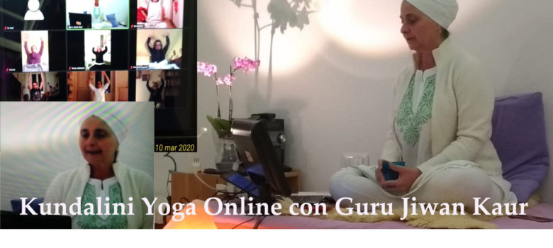 Yoga online e in presenza