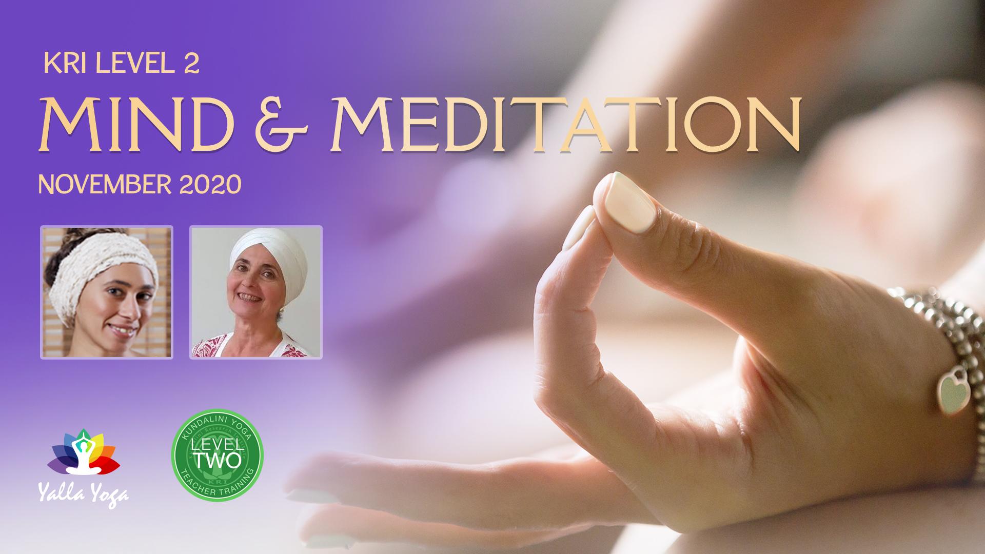 KRI-Level-2-Mind-Meditation Lead Guru Jiwan Kaur